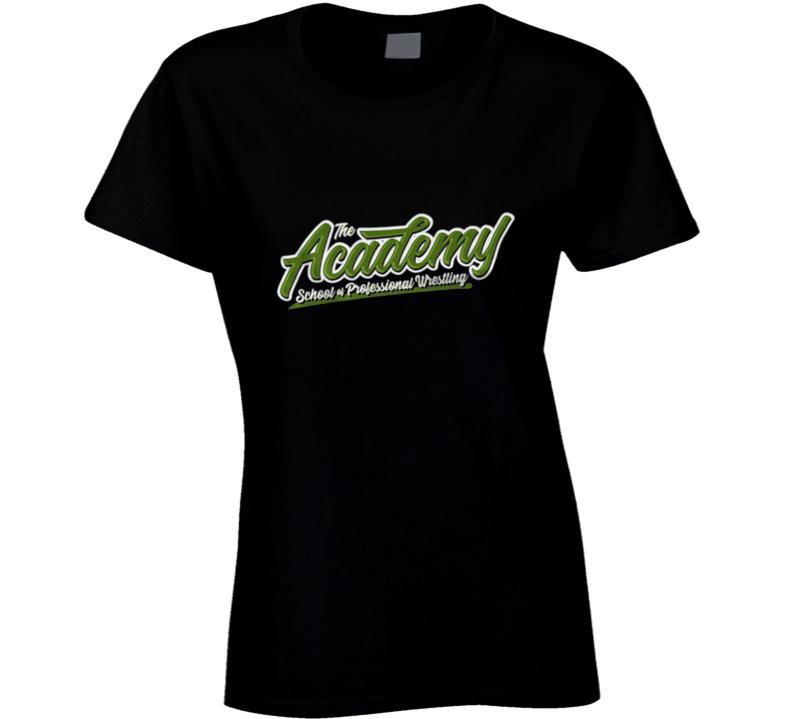 The Academy School Of Professional Wrestling Ken Anderson Ladies T Shirt