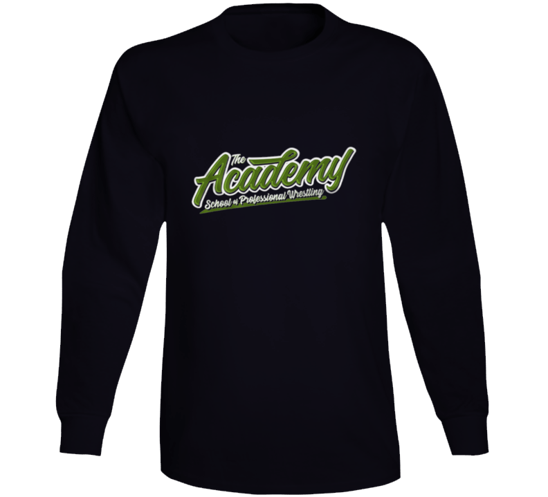 The Academy School Of Professional Wrestling Ken Anderson Long Sleeve