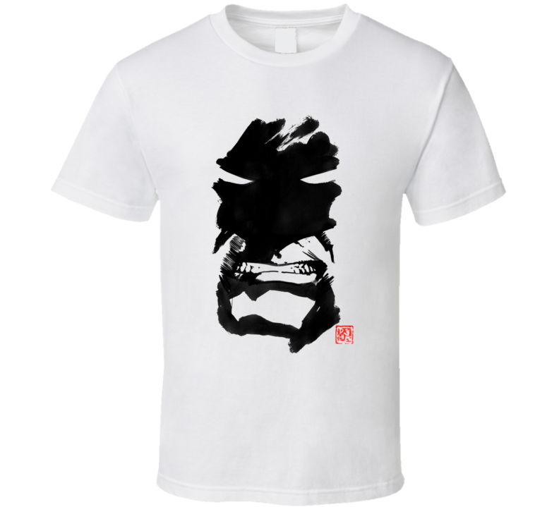 Angry Batman Geisha, Sumie, Japan T Shirt
