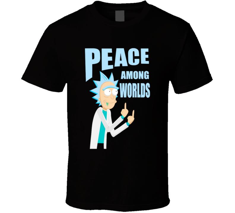 Peace Among Worlds V3 Rick, Peace T Shirt