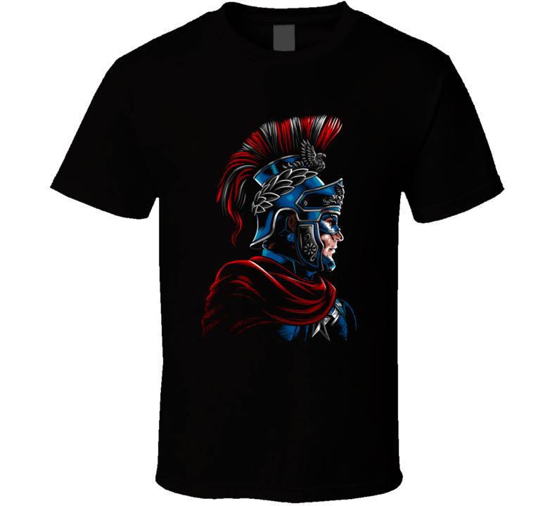 Roman Captain Roman, Rome, Empire, Gladiator, Captain, America, Comic, Hero T Shirt