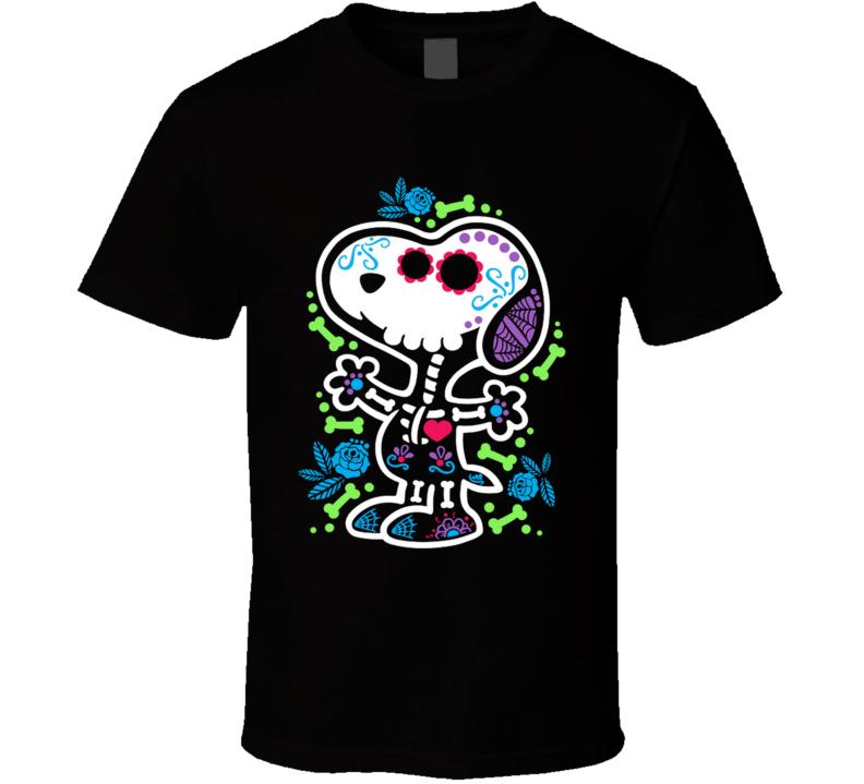 Skeleton Beagle Calavera, Dia De Los Muertos, Bones, Skull, Halloween T Shirt