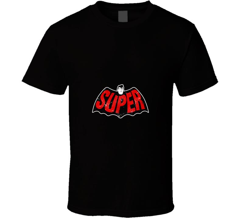 Super Logo Super, Geek, Retro, Logo T Shirt