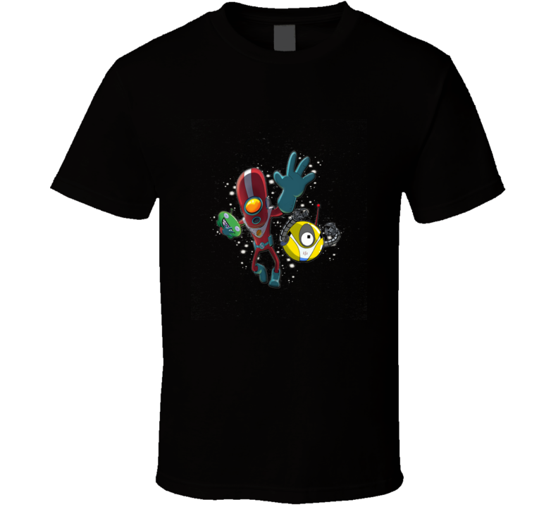 Space Space, Final Space, Robot, Rugby, Football, Sport, Esport T Shirt