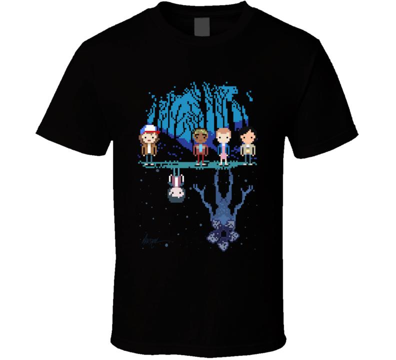 Stranger Pixel Demogorgon, Series, Horror, Cartoons, Tv Shows T Shirt