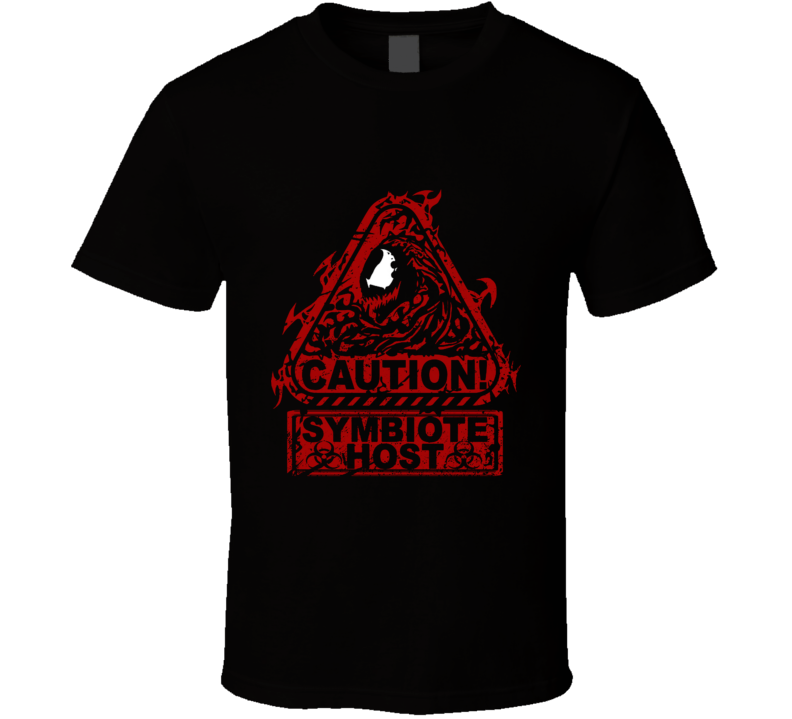 Symbiote Host (ver2) Carnage, Symbiote, Warning, Illproxy, Cletus Kasady, Symbiotes T Shirt