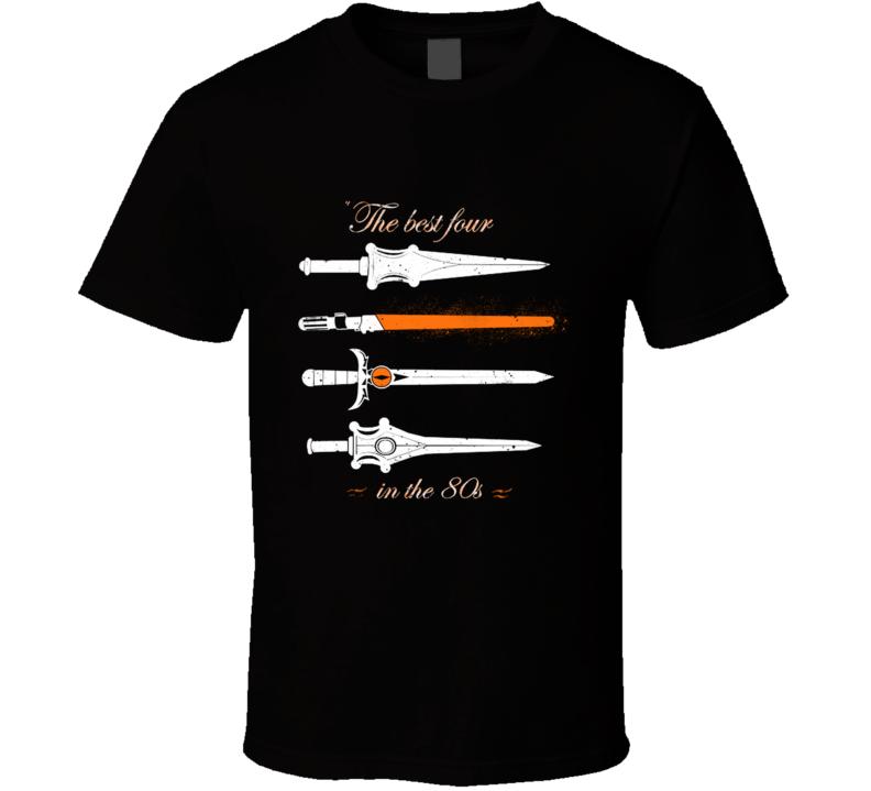 The Best Four  Geek, Nerd, Pop, Thudercats T Shirt