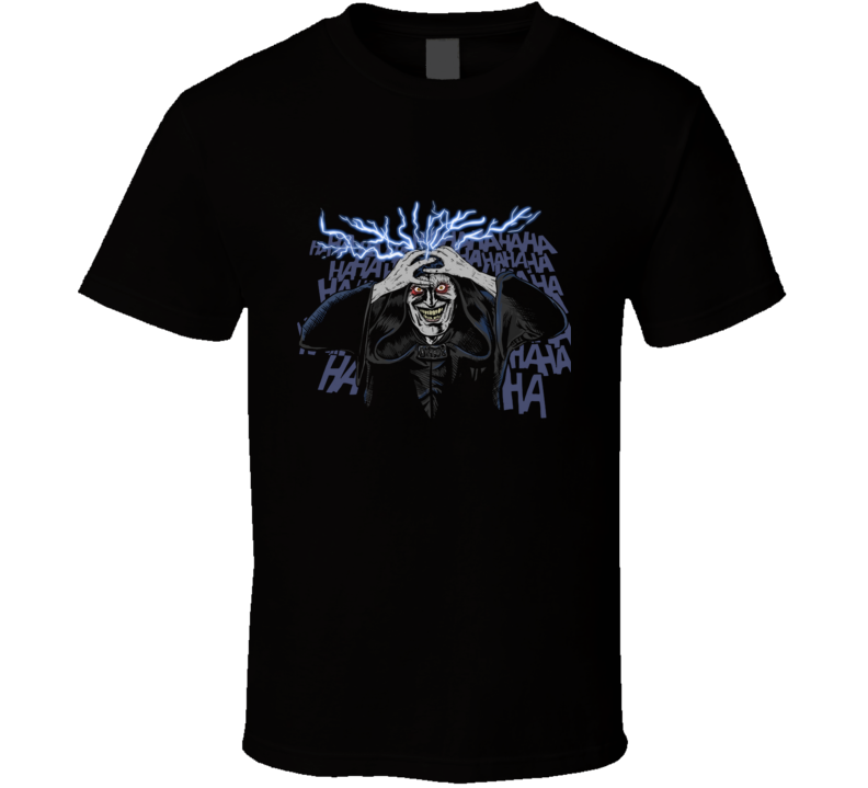 The End Laugh Emperor Palpatine, Sith T Shirt