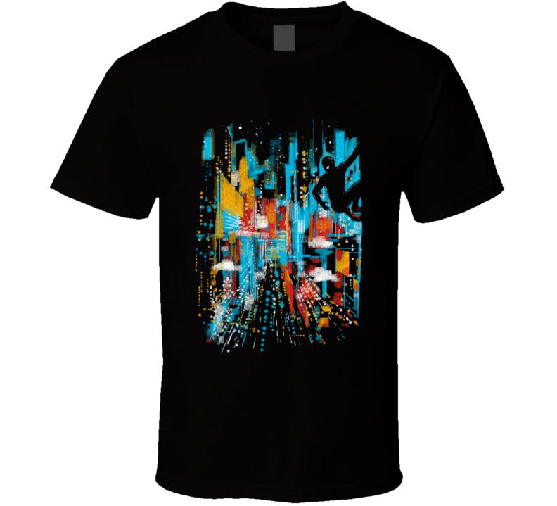 Spider's Vision Hero, Movie, Comics, Scifi, Science Fiction, Friendly Neighbourhood, Original Art T Shirt