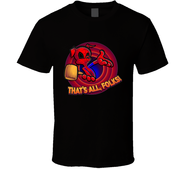 That's All, Spider-folks! Spider, Pig, Ham, Porker, Peter, Comics, Hero, Cartoons T Shirt
