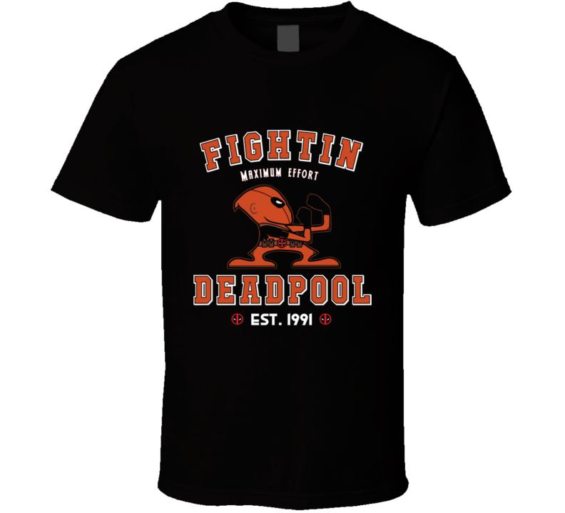 The Fightin Mercs Merc With The Mouth, Fighting Irish, Wade Wilson, Deadpool Tee, Deadpool Shirt, Merc, Deadpool Funny T Shirt