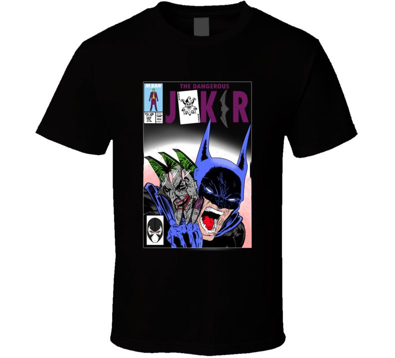 The Dangerous Joker Bane, Todd Mcfarlane T Shirt