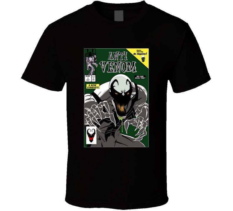 The Anti Protector Anti Venom, Carnage, Spider, Venom Verse, Symbiote, Comics T Shirt