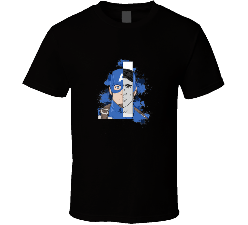 The First Captain Steve Rogers T Shirt