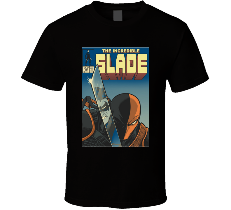 The Incredible Slade Deathstroke, Titans, Comics, Betmac, Nightwing T Shirt