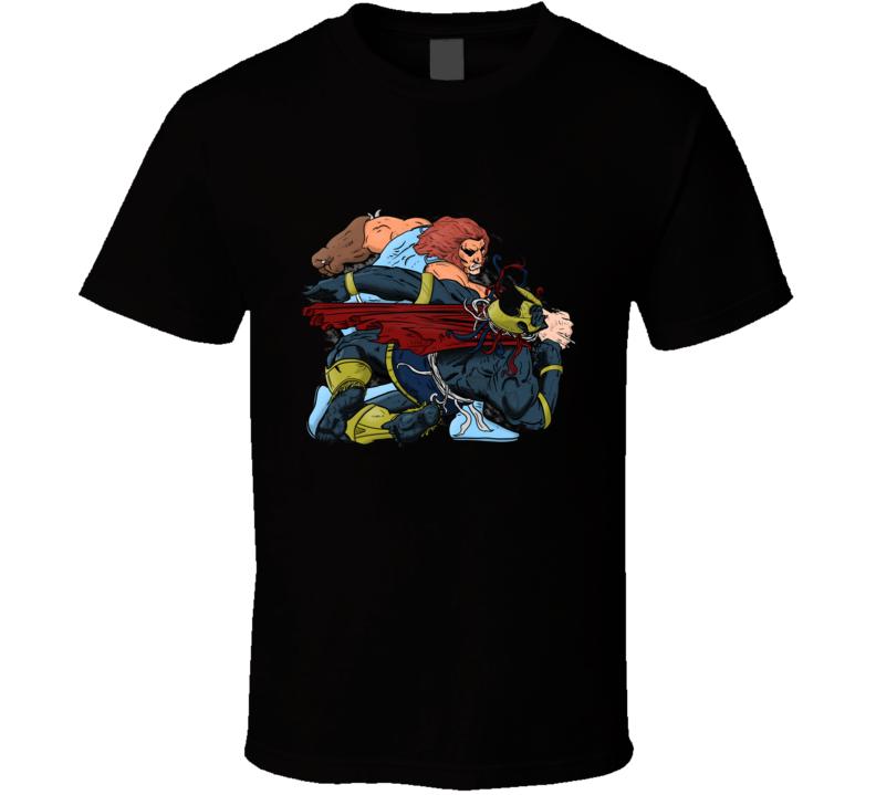 The Final Battle Thundercats, Leono, Mummra, Frank Miller, Comic T Shirt