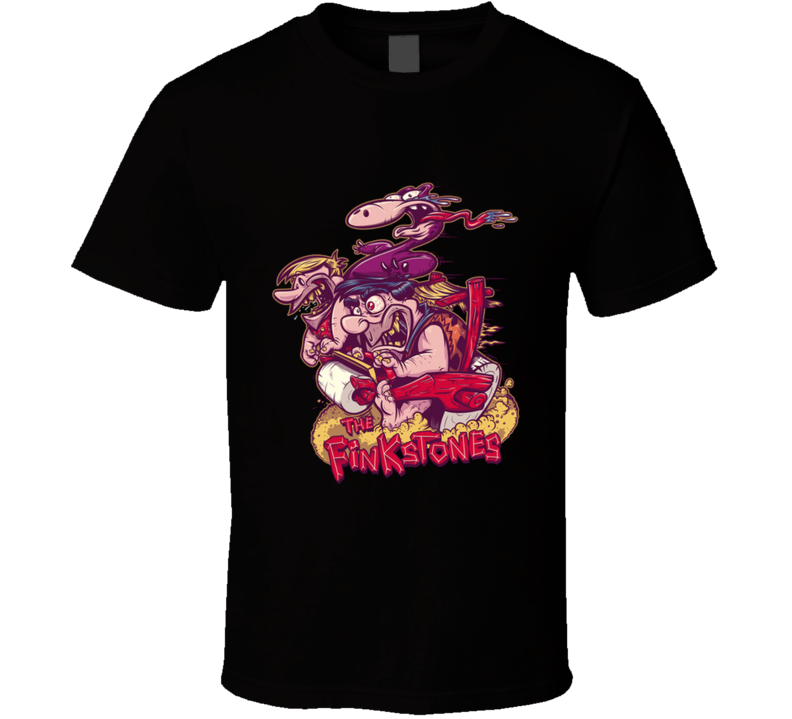 The Finkstones Cavemen, Cartoon, Hotrod, Car, Family T Shirt