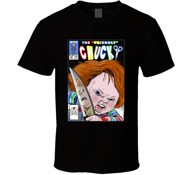 The Friendly Chucky Chucky, Child´s Play, Terror, Horror, Sheriff T Shirt
