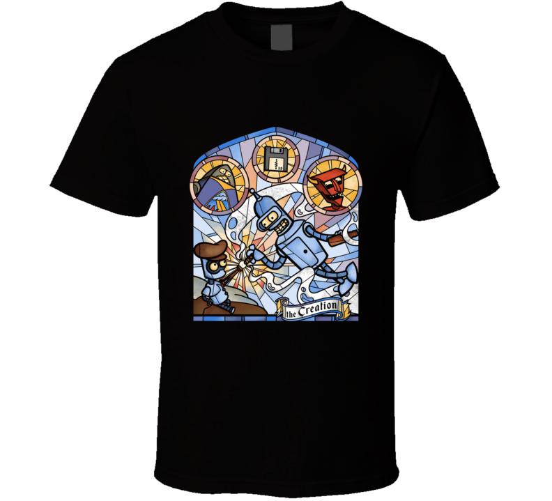 The Creation The Creation, The Creation Of Adam, Stained Glass T Shirt
