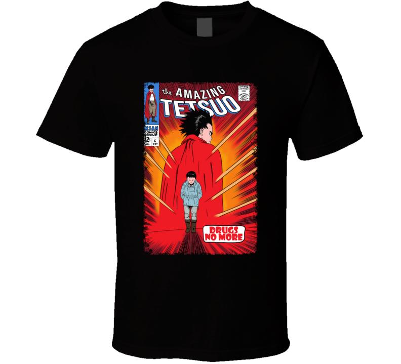 The Amazing Tetsuo Tetsuo, The Amazing Spiderman, Revenge, Drugs, Comics T Shirt