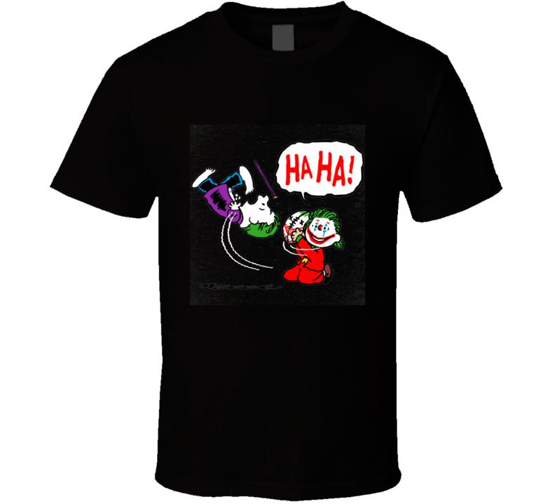 The Kicking Joke  Joke, Comic, Leto, Charlie, Parody, Football, On Sale T Shirt
