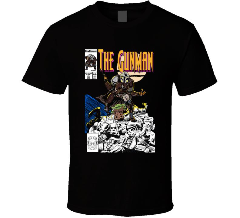 The Gunman N1 Comic, Baby, Villain T Shirt