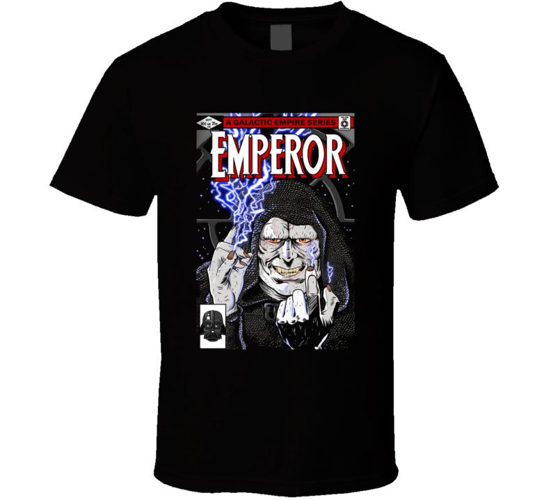 The Emperor Emperor, Sidious, Comic T Shirt