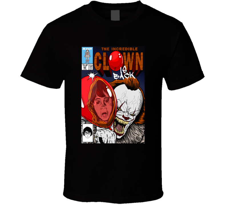 The Incredible Clown  Incredible, Comic, Georgie T Shirt