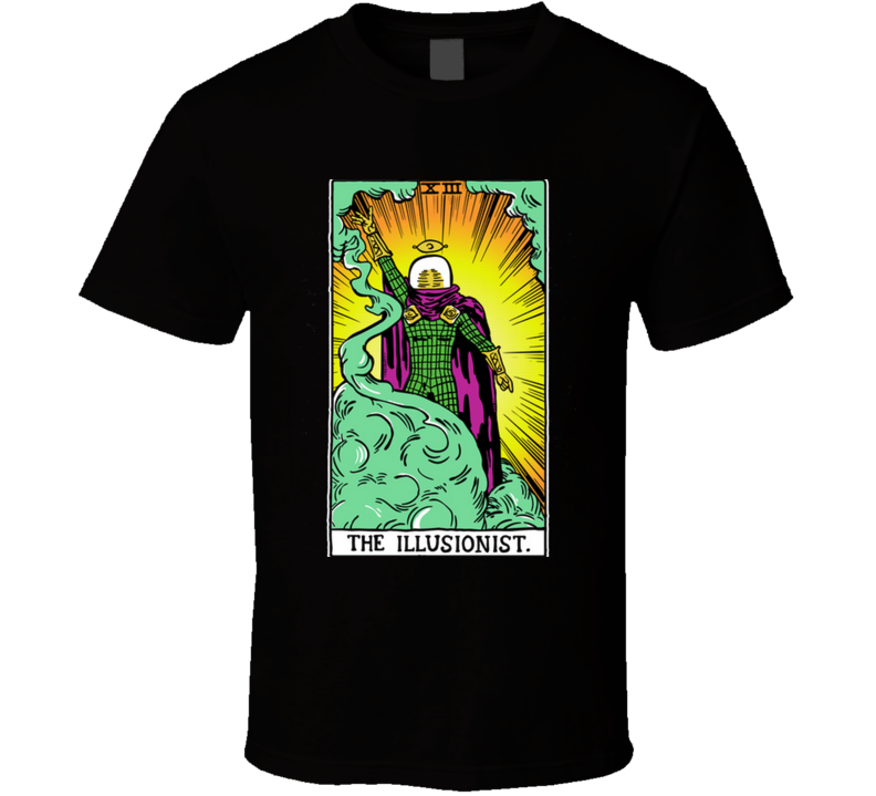 The Illusionist V2  Magic, Spider, Card, Tarot, Heroe, Villain, Power, Home T Shirt