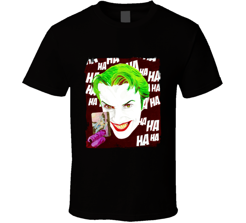 The Joker Card Villain, Comics, Bat T Shirt