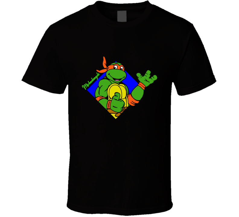 The Party Dude Turtles, Hero Turtles, Michaelangelo T Shirt