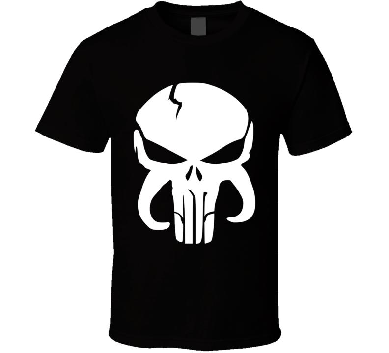 Vigilanti Bountyhunter Punsisher, Bulba Fett, Skull, Mandolorian Armor, Mash Up, Geek, Comics T Shirt