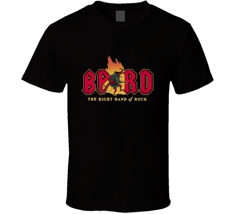 The Right Hand Of Rock Music, Rock, Comics, Movies, Right Hand Of Doom, Acdc, Bprd T Shirt