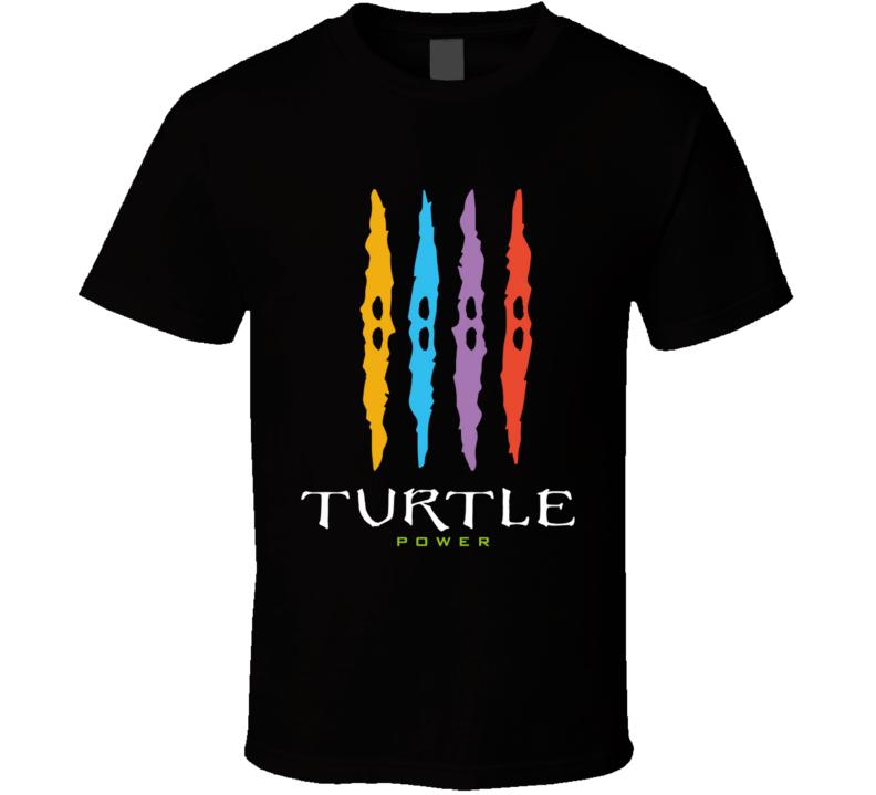 Turtle Power T Shirt