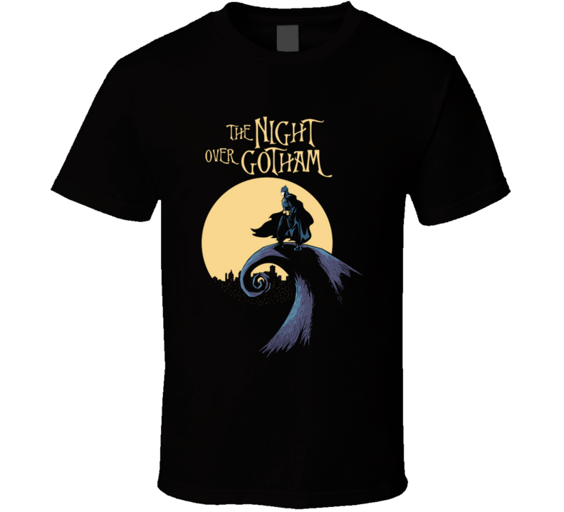 The Night Over Gotham Daobiwan, Timburton, Gothamcity T Shirt