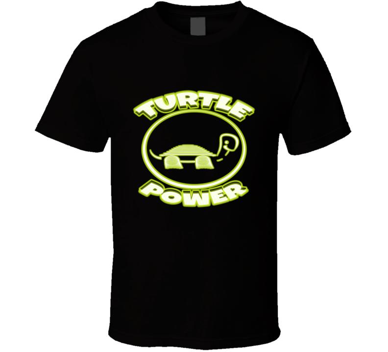 The Power  Turtles, Power, Glow Sticks, Turtle Art, Ninjas T Shirt