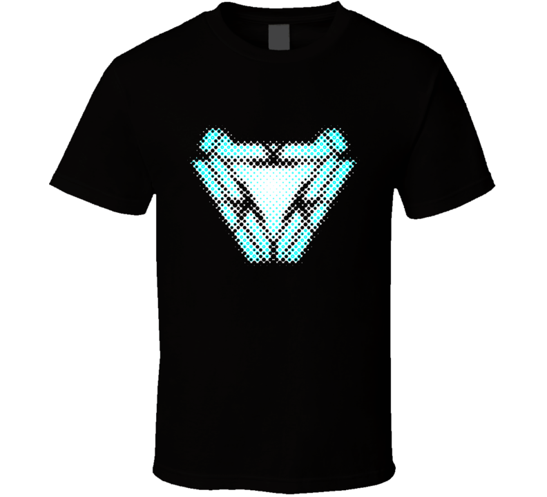 Tony's Heart Arc Reactor, Infinity War, Endgame, Comics T Shirt