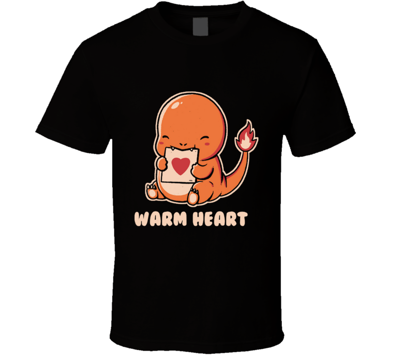 Warm Heart Warm, Heart, Love, Funny, Comics, Quotes T Shirt