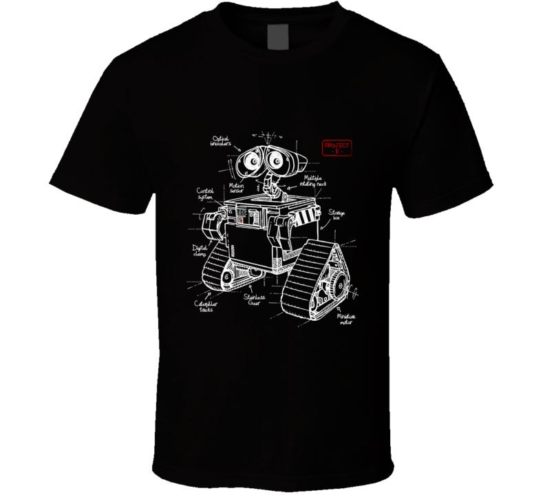 Wall E Plan 2.0 Wall E, Robot, Droid, Panet, Ecology, Plan T Shirt