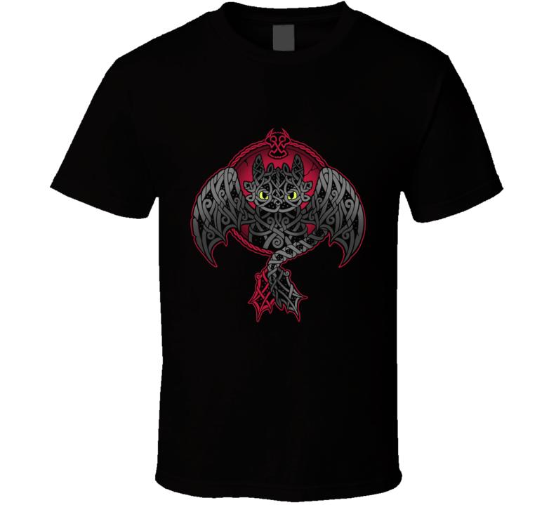 Viking Fury Viking, Toothless, Night Fury, Light Fury, Nightfury, Nightlights, Dragon T Shirt