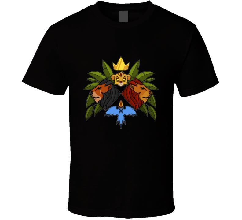 The One True King Ne True King, Geometric, Zazu, Skar, Crown T Shirt