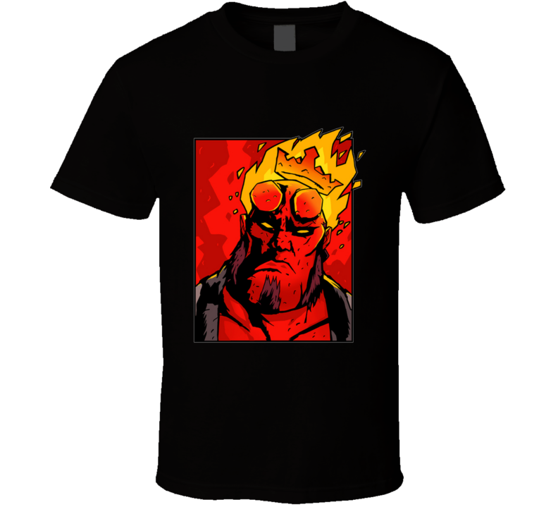 The Notorious H.e.l.l. V2 Notorious, Comic, Demon, Hell, Heroe, Super, Crown T Shirt