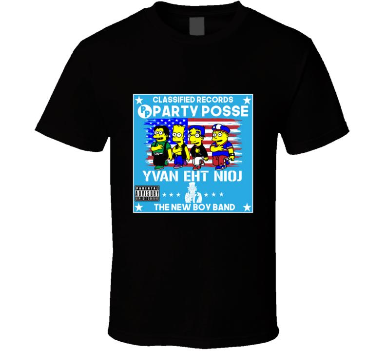 Yvan Eht Nioj Yvan Eht Nioj, Cartoon, Tv Shows, Geek, Nerd, Funny, Parody T Shirt