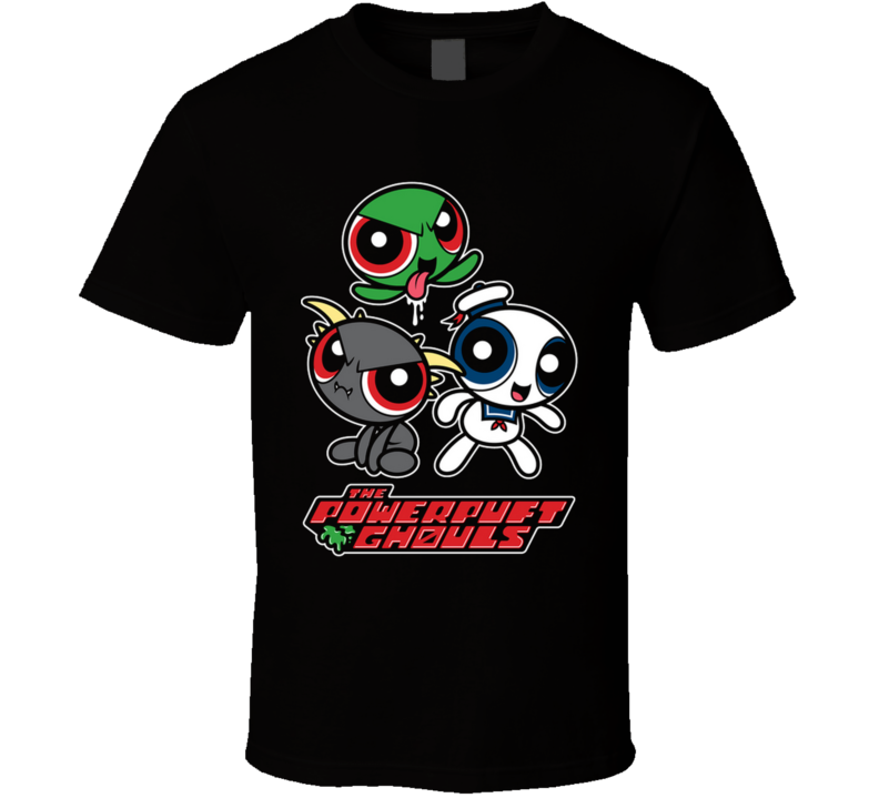 The Powerpuft Ghouls Slimer, Zuul, Stay Puft, Cartoon, Mike Handy, Mikehandyart T Shirt
