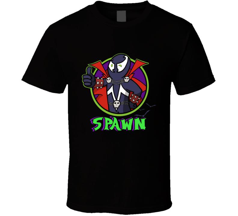 Vault Spawn Spawn, Spawn Tee, Spawn Shirt, Thumbs Up, Vault Boy Shirt, Vault Boy Tee T Shirt