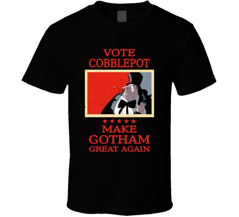Vote Cobblepot Penguin, Gotham, Returns, Villain, Trump, Elections T Shirt