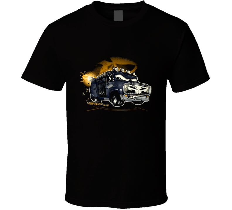 War Wagon (classic) Punish, Van, Car, Guns, Ammo T Shirt