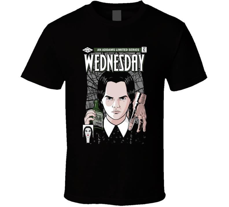 Wednesday Wednesday Addams, Addams Family, Comic, Killer, Assasins, Girl T Shirt
