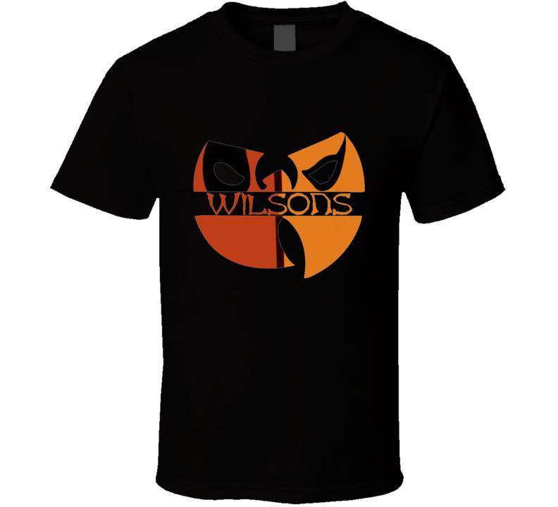 Wilson's Deathstroke, Ninja, Parody, Rap, Swords T Shirt