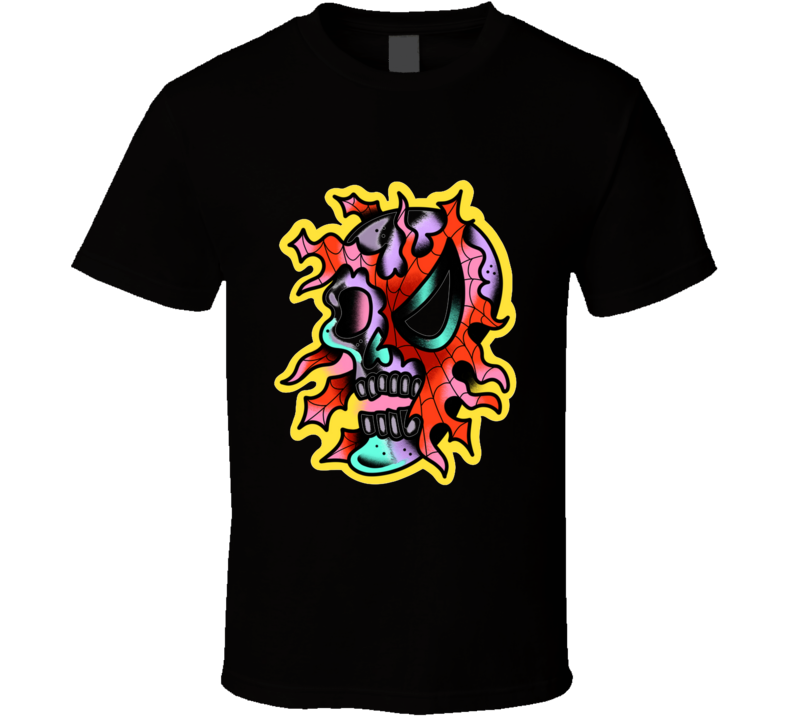Zombie Spider Super Dude Comic, Superhero, Spider, Skull, Zombie T Shirt